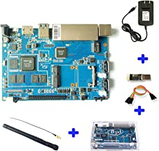 youyeetoo Banana PI BPI R2 Router Development Board KIT with Chip MediaTek MT7623N Compatible with Raspberry pi for IOT Smart Home Control gatewa and NAS Server