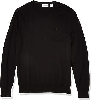 Calvin Klein Men's Soft Liquid Touch Crewneck Sweater