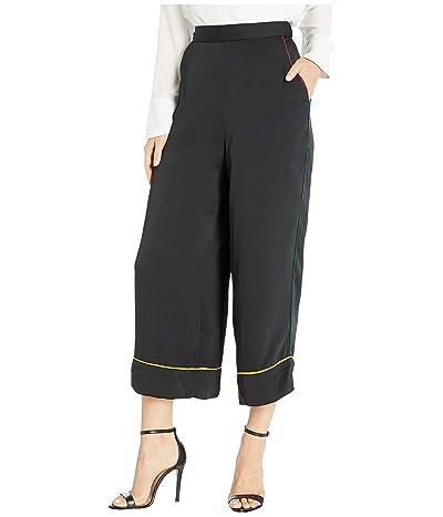 BCBGeneration Pajama Piping Pants (Black) Women