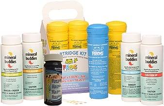 Frog Serene (aka Spa Frog) Cartridge Kit Refill Hot Tub Spa Water Treatment (1-Mineral Cartridge, 3-Bromine Cartridges) - Includes Mineral Buddies Hot Tub Spa Care