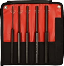 Mayhew Pro 62065 5Piece Pin Punch Set with Extra Long Pin Lengths