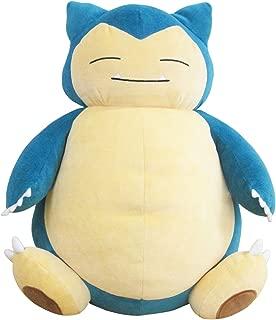 Sanei Pokemon All Star Collection PZ04 Snorlax/Kabigon Stuffed Plush, 15