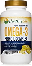 Omega 3 Fish Oil 1000mg   700mg of Finest Epa DHA Essential Fatty Acids   Liquid Burpless Pills   Supplements for Adult Women Men   Supports Heart Brain Joint Health