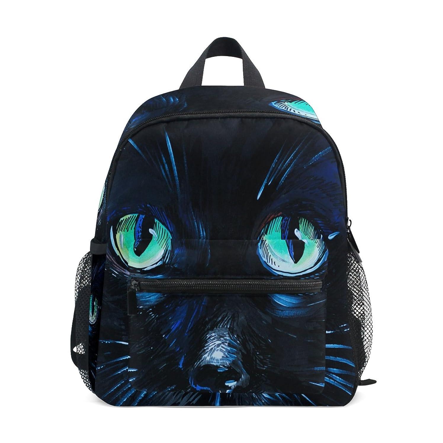 上に組み合わせチャールズキージングNatax リュック レディース 小型 ミニリュック おしゃれ猫の目 猫柄 リュックサック ディパック 人気 かわいい ショルダー バックパックキャンバスバッグ 多機能 通学 出張 旅行 撥水 人気