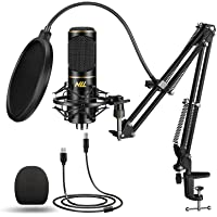 Deals on NLL Podcast Condenser Microphone Kit for Studio Recording