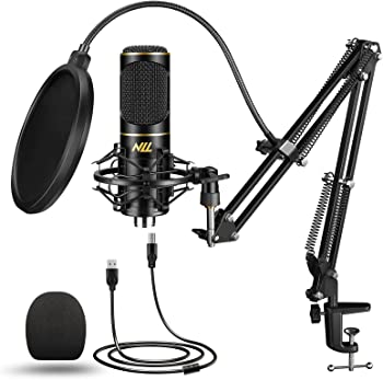 NLL NC-011 Podcast Condenser Microphone Kit for Streaming