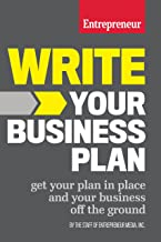 Write Your Business Plan: Get Your Plan in Place and Your Business off the Ground