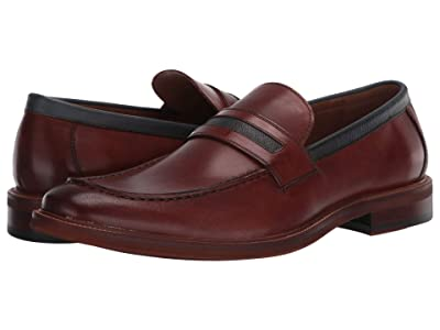 Kenneth Cole Reaction Palm Penny (Cognac/Navy) Men