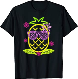 Luau Party Pineapple T-Shirt For A Hawaiian Party