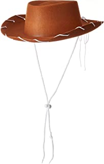 Children's Cowboy Brown Hat Costume Woody Style