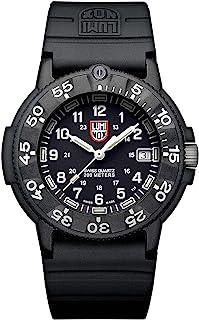 ساعة لومينوكس للرجال ختم الاصلي 3001 - عودة - 43 ملم