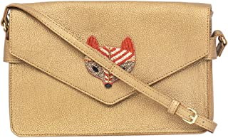 Foxy Sequence Applique Sling Bag