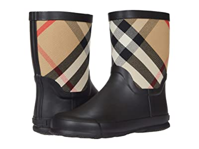 Burberry Kids Rubber Boot (Toddler/Little Kid) (Beige) Kid