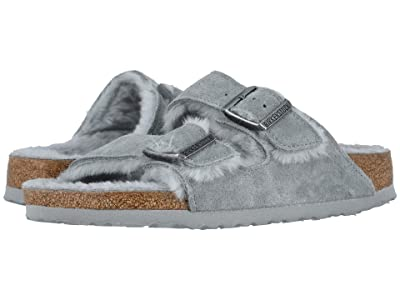Birkenstock Arizona Shearling (Dove Gray/Dove Gray Suede/Shearling) Women