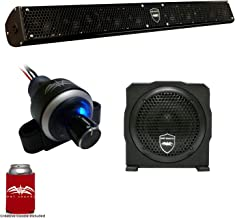 Wet Sounds Stealth 10 Surge Sound Bar w/WW-BTVC Bluetooth Volume Controller and AS-6 6
