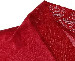 Baoblaze Ladies Silk Knickers Boyshorts Women's Lingerie Lace Underwear Boxers Panties - Pink, XXL