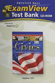 CIVICS:GOVERNMENT AND ECONOMICS IN ACTION CHAPTER TESTS WITH EXAM VIEWT