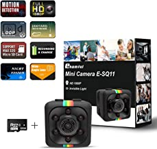 Ehomful 1080P HD Mini Spy Camera,Wireless Hidden Cop Nanny Cam As Seen On TV with 32GB MicroSD Card Class 10