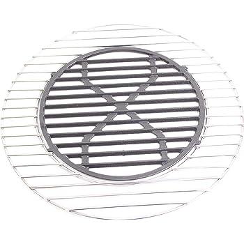 Diamètre 44,5 cm ronde en acier inoxydable grille de cuisson