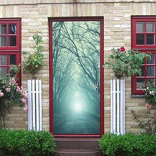 Bosque magico Etiqueta de la pared visual bricolaje mural europeo estéreo regalo arte ilustración fondos de pantalla vacaciones hogar 80X200CM