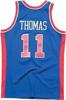 Mitchell and Ness Thomas Royal Pistons #11 Swingman Jersey (18163-DPIROYA88ITH)