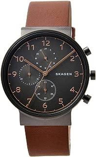 [スカーゲン]SKAGEN 腕時計 アンカー 40mm クロノグラフ グレーシルバー SKW6418 メンズ [並行輸入品]