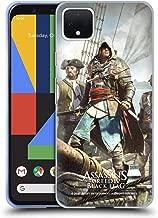 Official Assassin's Creed Edward Kenway Black Flag Key Art Soft Gel Case Compatible for Google Pixel 4 XL