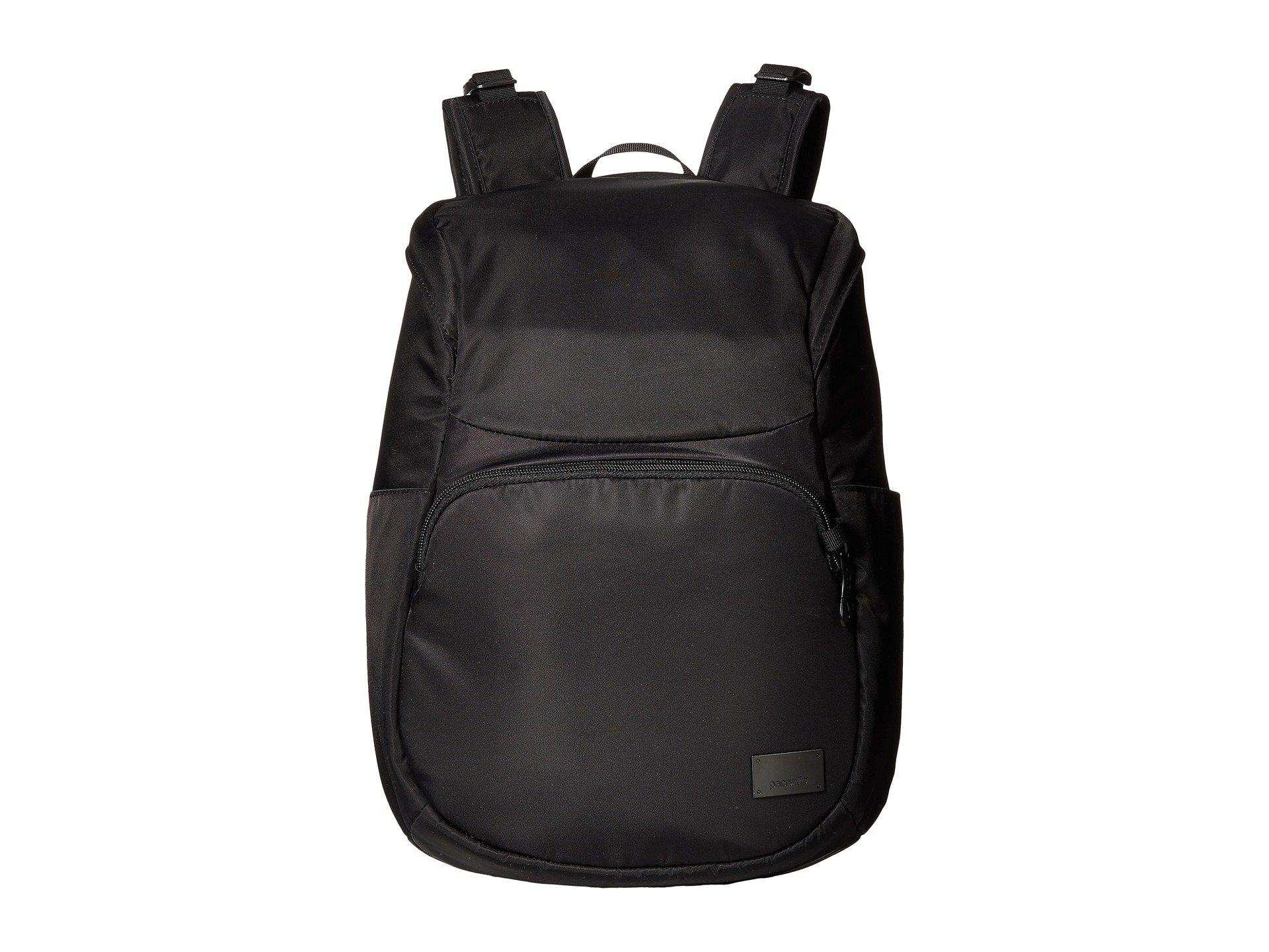 Compact Backpack Black Cs300 Citysafe Pacsafe EwqPZZ
