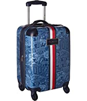 "Tommy Hilfiger TH-658 Varsity 21"" Upright Suitcase"