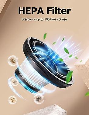 Handheld Vacuum Cleaner, Car Vacuum Cleaner Cordless Rechargeable, Hand Vacuum Cleaner High Power, Portable Mini Small Vacuum
