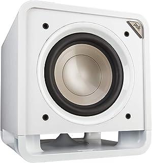 Polk Audio HTS 10 Aktivsubwoofer für Heimkino Soundsysteme und Musik, 10' Bass Box, 200 Watt