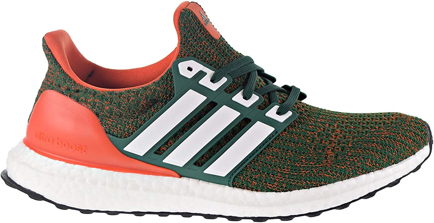 timeless design ae783 d01f3 Adidas Ultraboost 4.0 Miami Hurricanes - Men's Running shoes ...