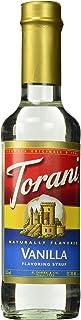 Torani Syrup, Vanilla, 12.7 oz