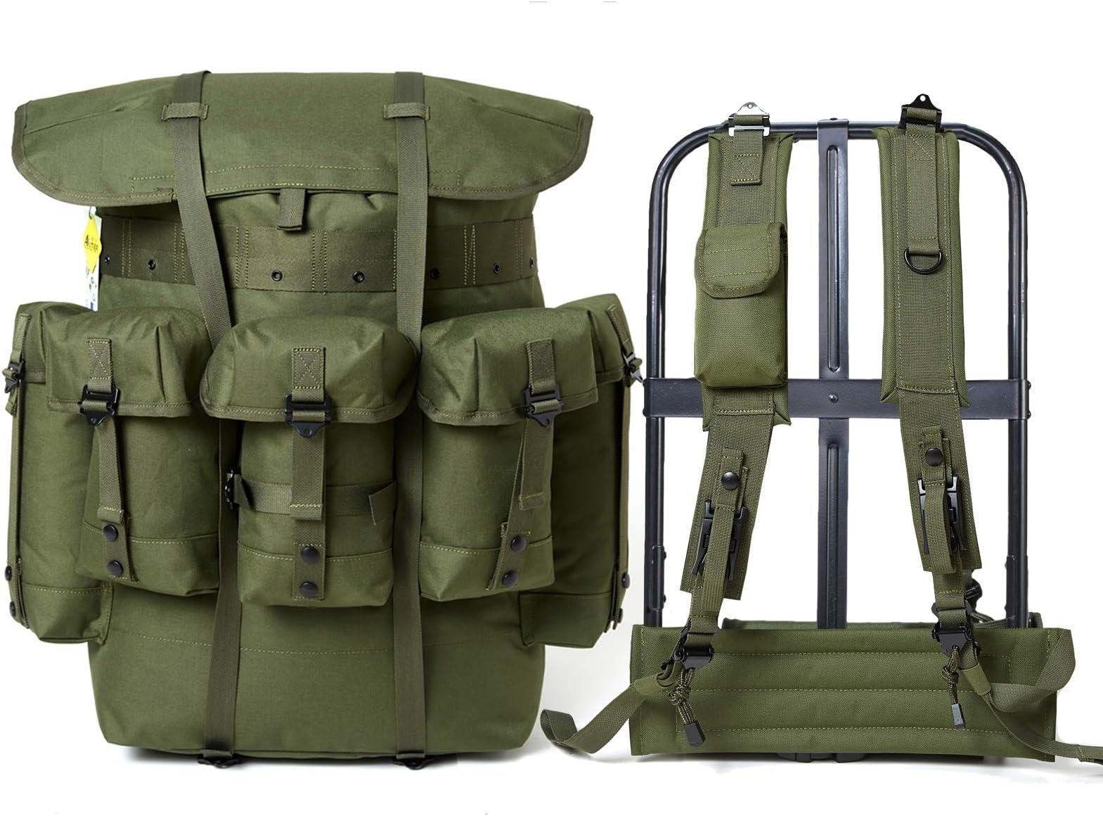 waist pad /&shoulder straps NOS,free ship Marpat Style Large Alice Pack w//frame