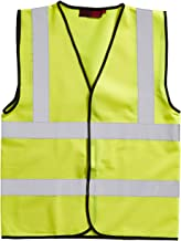 Blackrock Men's High Visibility Waistcoat - Yellow, Large