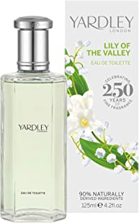 Lily of The Valley by Yardley of London for Women Eau De Toilette Spray, 4.2 Ounce
