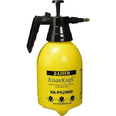 Kisan Kraft KK-PS2000 Manual Sprayer (2 Litre) (Colour May Vary)