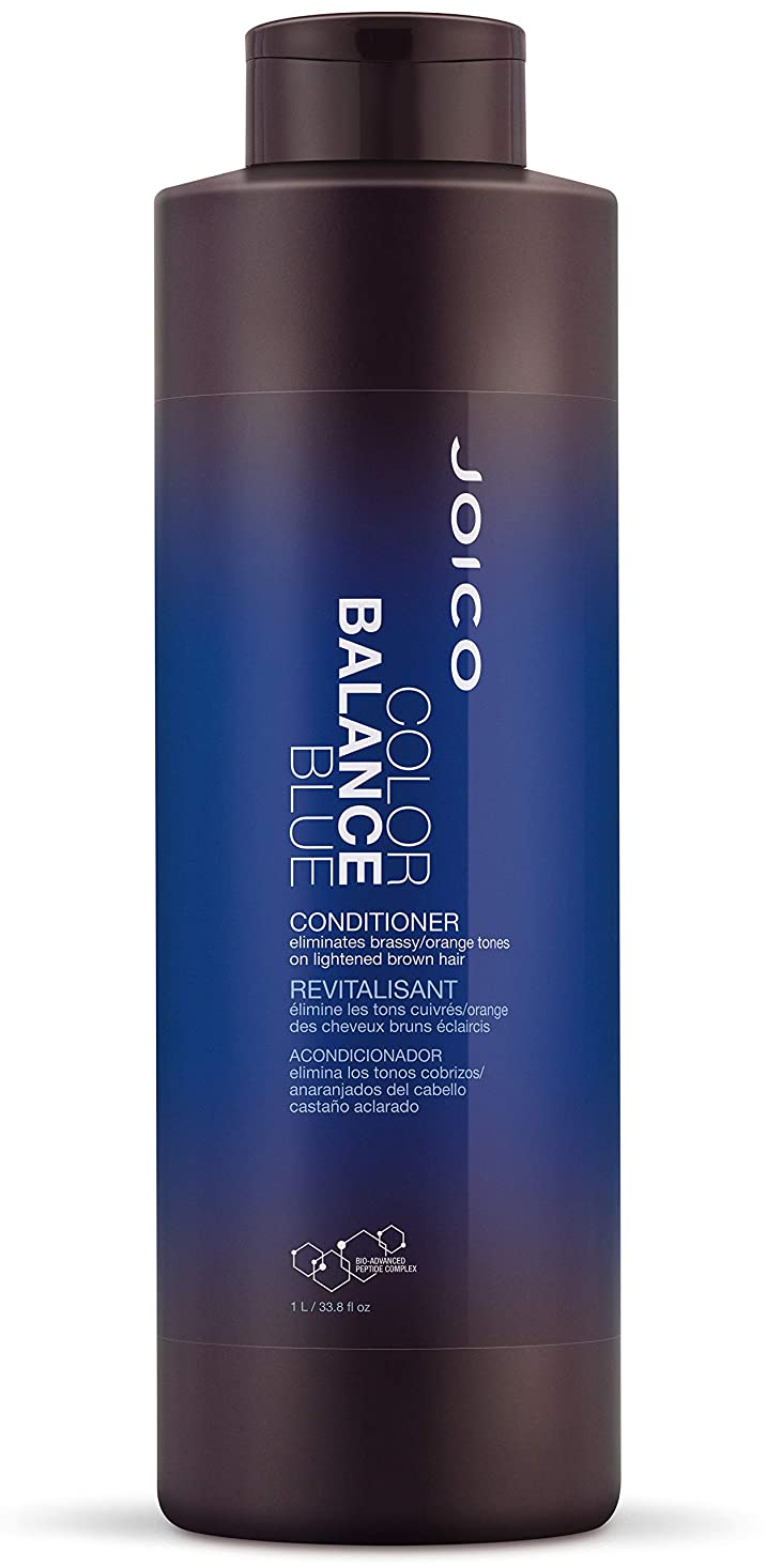 緩めるオペラ連邦ジョイコ Color Balance Blue Conditioner (Eliminates Brassy/Orange Tones on Lightened Brown Hair) 1000ml/33.8oz並行輸入品