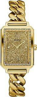 GUESS Analog Gold Dial Men's Watch - W0896L2