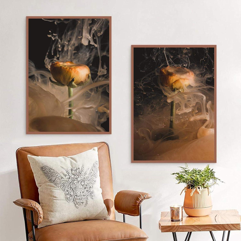 Nippon regular agency Plant landscape unisex painting flower room living canvas art