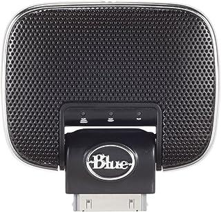 ميكروفونات زرقاء ميكي 2.0 مايكروفون لأجهزة أي بود وآيفون 3GS أو أقدم