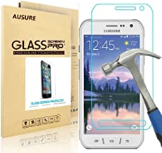 [2-Pack] Samsung Galaxy S6 Active Screen Protector, AUSURE HD Tempered Glass 0.3mm Thin Ultra Clear 9H Hardness 2.5D Round Edge with Lifetime Replacement Warranty (for S6 Active)