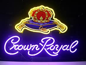 New Crown Royal Real Glass Neon Light Sign Home Display Beer Bar Pub Sign L46 by AOOS