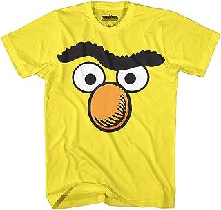 Sesame Street Bert Face Men's Graphic T-Shirt