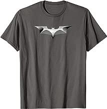 Batman Dark Knight Metal Bat Logo T Shirt