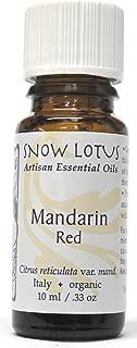 Snow Lotus Green Mandarin Essential Oil Organic 10ml