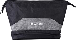 Men's Wide Mouth Dopp Travel Kit (Black and Grey)