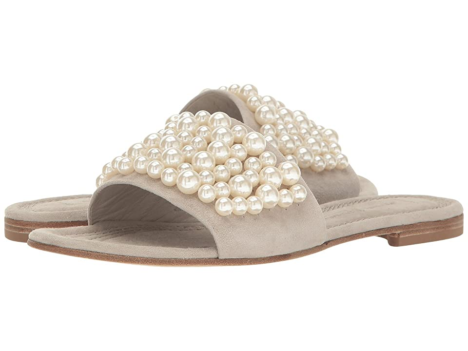 Kennel & Schmenger Pearl Slide Sandal (Cement/Pearls) Women