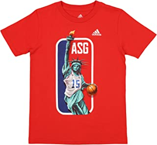 NBA All-Star Game 2015 Big Boys Youth Lady Liberty Dribbler, Red