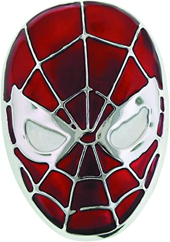 Jewel M Spider-Man Head Belt Buckle